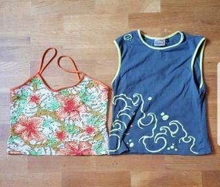 Lote 2 camisetas chica talla M