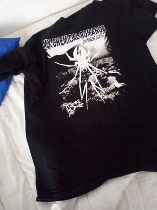 camiseta emo my Chemical Romance