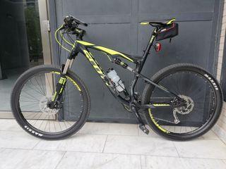 Bicicleta de montaña Scott.