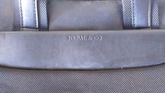 Maletín portadocumentos piel NADAL & CO