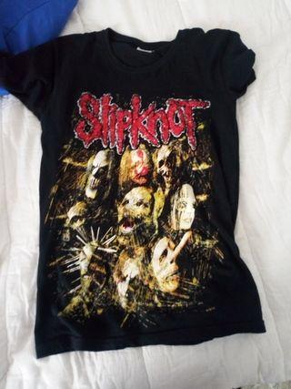 camiseta emo metal Slipknot