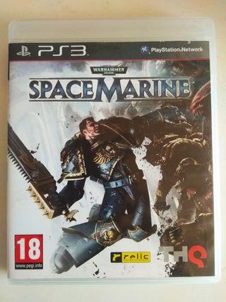 Warhammer 40.000 Space Marine Ps3