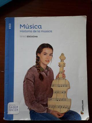 LIBRO MUSICA 3 ESO