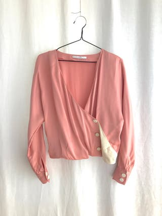 Conjunto Uterqüe falda y blusa