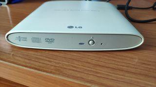 Lector Grabador DVD Externo USB
