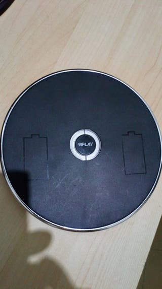cargador wireless wii induction charger