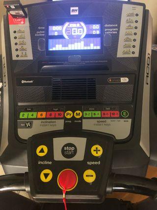 Cinta de correr Fitness BH RC01