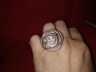anillo plata macizo