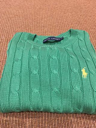 Jersey verde de Polo Ralph Lauren XS