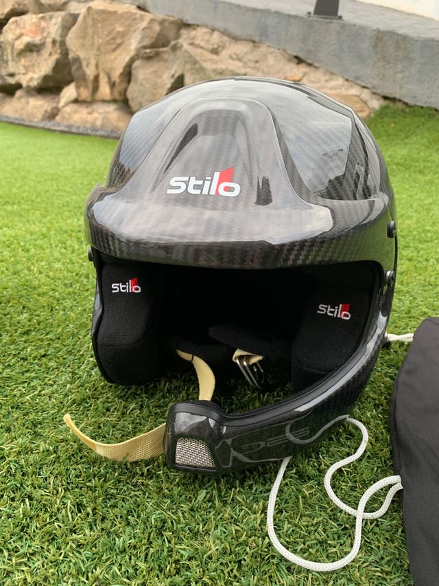 Casco Rally Stilo Carbono Piuma