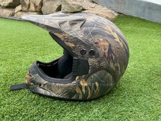 Casco motocross quad de camo Realtree
