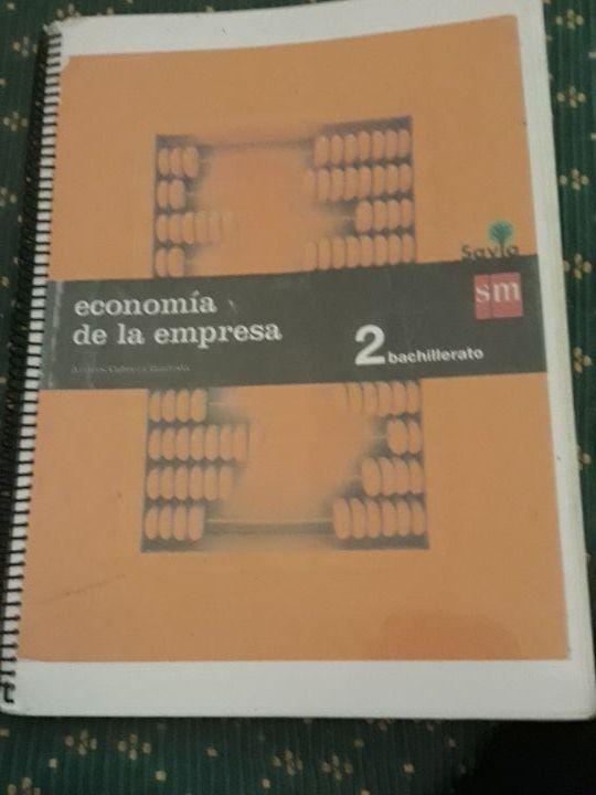 libro de economia de la empresa