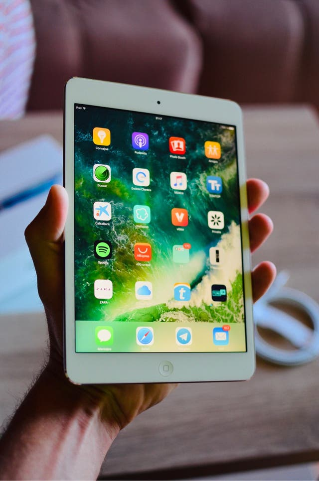 iPad mini 2 pantalla retina