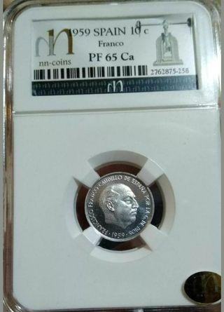 moneda del 1959 Proof 10c