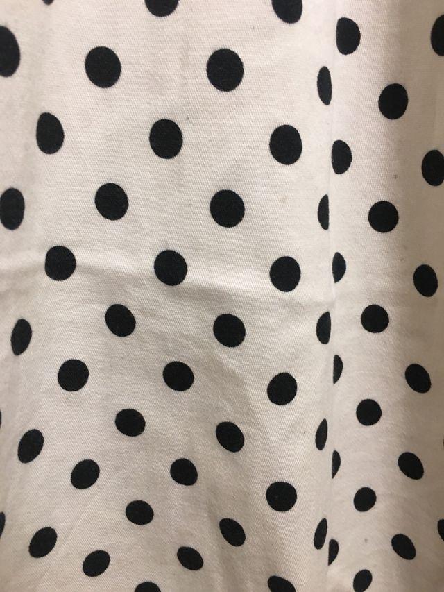 Vestido lunares de Blanco t.34