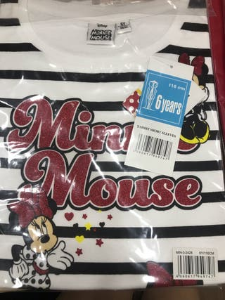 Camisetas Minnie