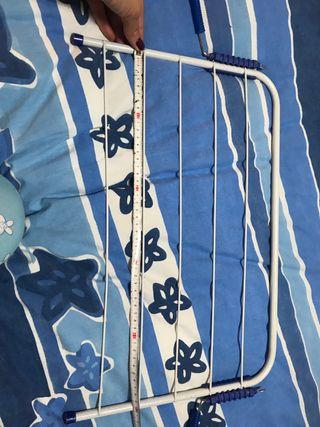 Tendedero de ropa para radiador. Comor azul/blanco