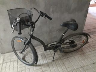 bicicleta decathon