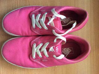 Zapatillas Vans color Rosa