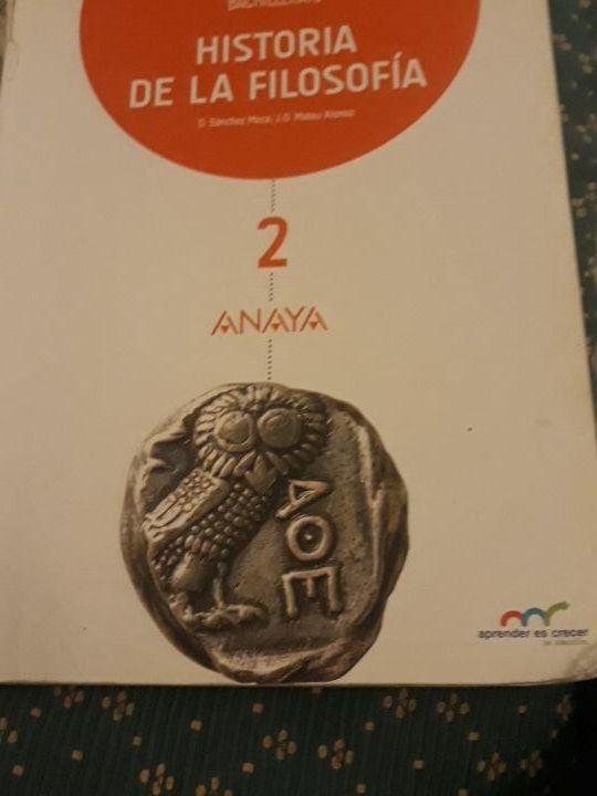 libro de la historia de la filosofía
