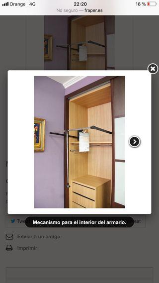 Perchero para armario