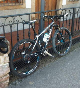 Bicicleta mtb Cube Reaction hpa