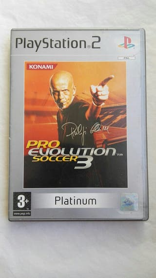 Pro evolution soccer 3 ps2 PES