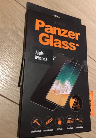 Panzer Glass - iphone X protector