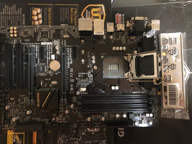 PLACA GIGABYTE Z170-HD3 SOCKET 1151