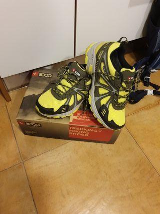 zapatillas de trekking, +8000