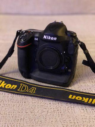 Nikon D4 (Cuerpo)