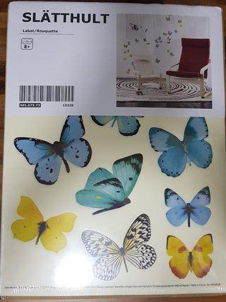 Vinilo decorativo mariposas Ikea