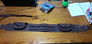canana de 15 balas con bolsillos que no uso