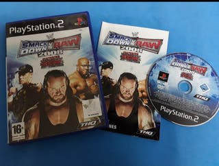 Ps2 - Smack down vs raw 2008