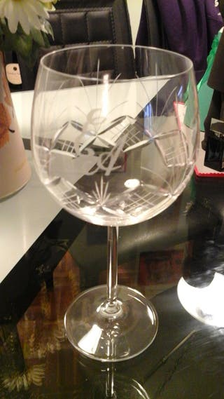 Cristalería tallada