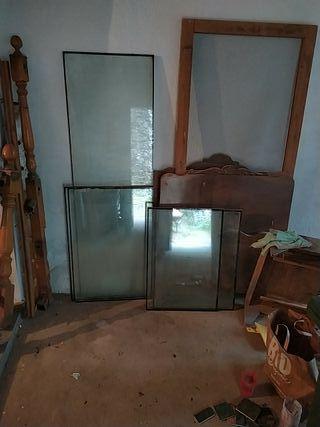 conjunto de vidrios de doble cámara