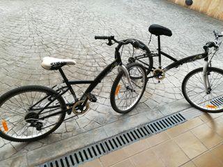 Dos bicicletas niño casi nuevas