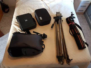 equipo Dslr vídeo y fotografia