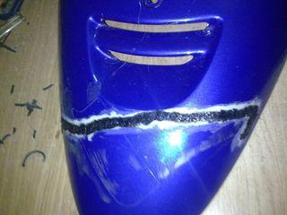 soldaje plástico moto