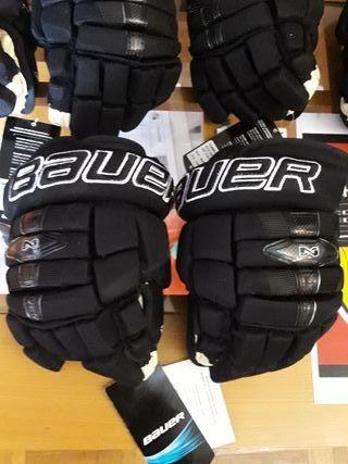 """Hockey guantes Bauer 10"""" queda un par"""