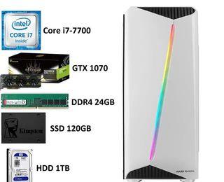 PC GAMING   i7   GTX 1070   24GB RAM   120GB SSD