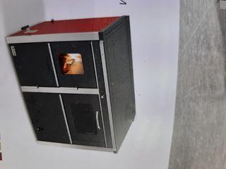 ¡¡¡ cocina de leña 34.5kw/conectar radiadores!!!