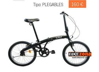 Bicicleta nueva plegable