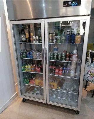 Nevera expositora refrigerada