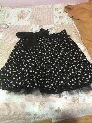 1ab0bf252 Falda de tul Zara de segunda mano en Madrid en WALLAPOP