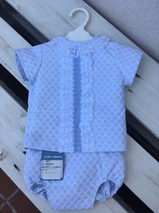Ranita y camisa bebe