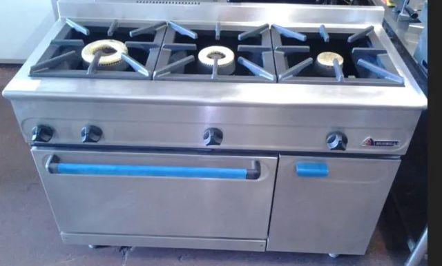 Cocina 3 fuegos mas horno