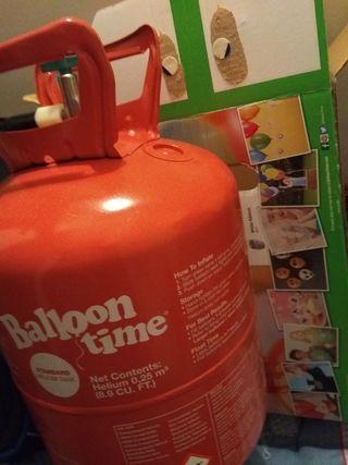 bombona de helio ballon time