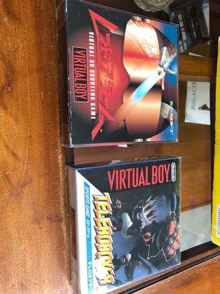 Juegos virtual boy completos