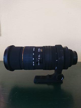 sigma 50-500mm f4-6.3 apo ex DG hsm nikon objetivo